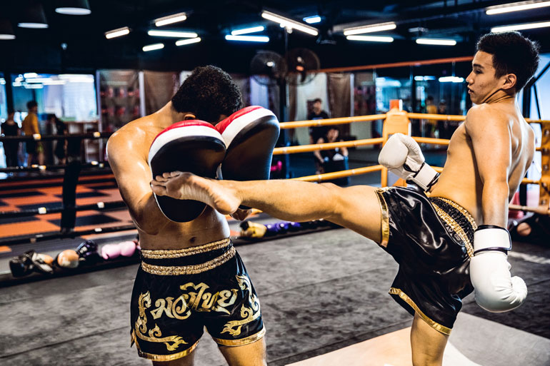 Image result for Muay Thai Kickboxing