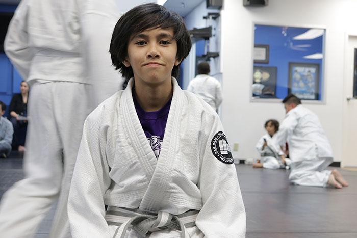 kids karate training