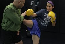 muay thai lesson