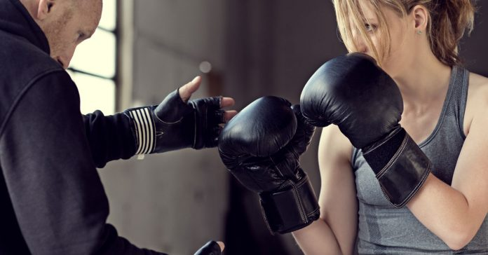 Kickboxing teacher