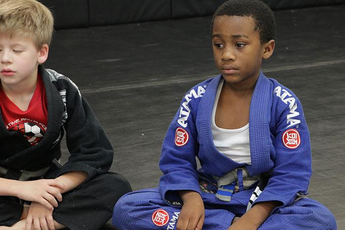 Kids martial arts class