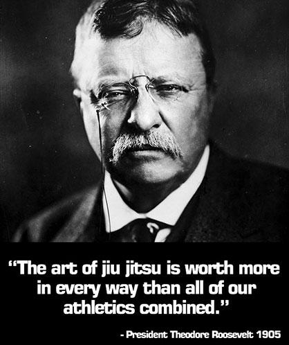 Roosevelt jiu jitsu poster